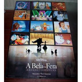 Cartaz/poster Cinema Filme A Bela E A Fera - Relançamento