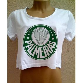 Camiseta Palmeiras Branca Sem Mangas - Camisetas e Blusas no Mercado ... b80d1e8c69bc3