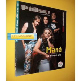 Mana Revista Latin Pulse 2002 Grupo Mana Tatu 7bac138581abb