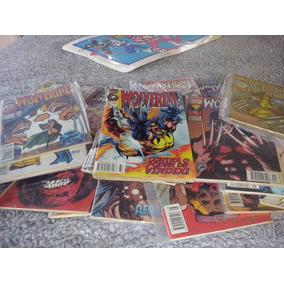 Lote 6 Gibis Wolverine Formatinho Da Abril