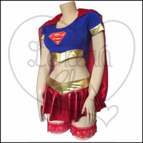 Disfraz De Halloween Super Girl