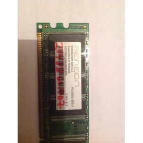 Memoria 256 Mb Ddr 400mhz Cl3