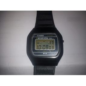 fdc4f604b2b Relógio Casio F-7 Original Japan Único Dono Raro Exc.estado