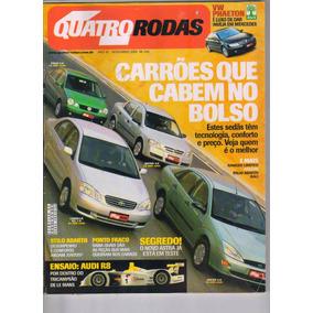 Revista Quatro Rodas 4r Qr Ano 42 N 508 Novembro 2002