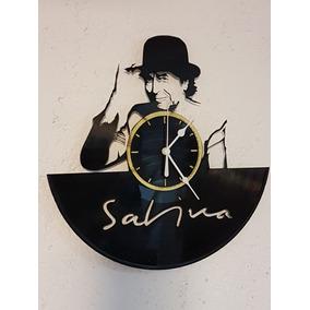 Reloj De Pared Decorativo En Acetato De Vinilo Sabina