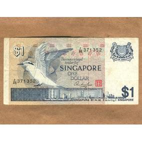 Cédula De 1 Dólar De Singapura