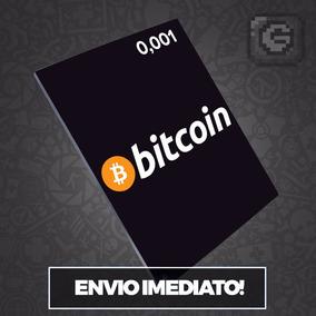 Bitcoin 0.001 Btc Vendemos Múltiplos De 0,001 - Envio No Dia