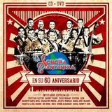Sonora Santanera 60 Aniversario Cd + Dvd