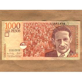 Cédula De 1000 Pesos Colombianos