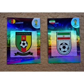 Logos - Cards Adrenalyn Panini World Cup 2014