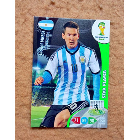 Star Player - Cards Adrenalyn Panini World Cup 2014