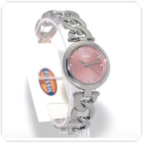 b8b546ab698 Relógio Feminino Fossil Es3506 Prata Novo Original