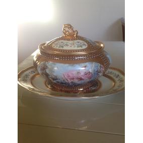 Sopeira Com Presentoir Porcelana Patria (dp)