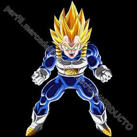 Playera Vegeta Super Sayayin Dragon Ball Z