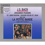 Bach Pasion Segun San Juan Sacra Coral Clasica Cd Disco