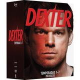 Coleção Dvd Dexter 1ª A 7ª Temporada - 28 Discos - Original