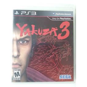 Yakuza 3 Ps3 Mídia Física Original Perfeito (raridade)