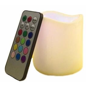 Vela A Led Rgb Multicolor Control Remoto - Decoracion, Resto