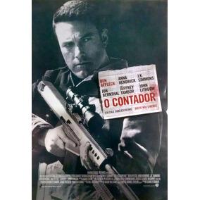 Cartaz De Cinema Original - O Contador - Ben Affleck