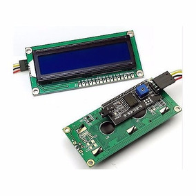 Display Lcd 16x2 Azul Serial 2 Pinos Arduino Gng Raspberry