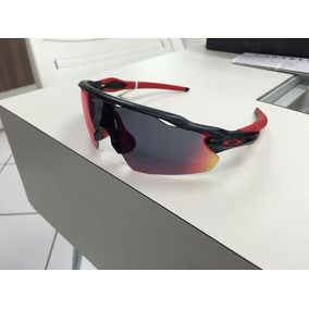 Oculos Oakley Radar Ev Pitch Oo9211-02 Matte Black + Red Iri 266faabb36