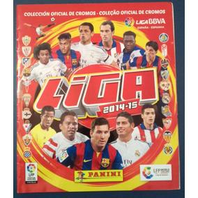 Álbum Liga Bbva Espanha 2014/2015 Completo P/ Colar