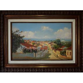 José Benigno, Vista De Olinda Óleo S/tela, 38x61cm
