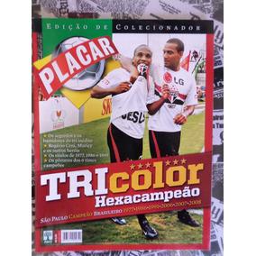 Revista Placar São Paulo Fc Hexacampeão Brasileiro 2008