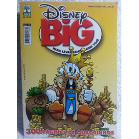 Gibi / Hq Disney Big Nº 12 - Quadrinhos Coloridos 306pg (a)