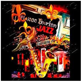 39dfcf045e Placa Vintage King Mdf 27x27cm Maison Bourbon Jazz Bcq.00379