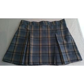 Minifalda Tela Escocesa