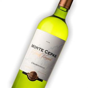 Vino Montecepas Chardonnay -6 Bot - B Lanzarini Envío Gratis
