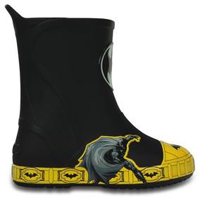 Bota De Lluvia Crocs Niño Batman