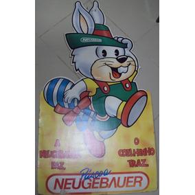 Placa De Propaganda Chocolate Neugebauer