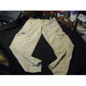 Pantalon Cargo De Trekking Lut Talla L Tela Secado Rapido