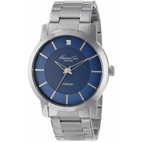 Reloj Kenneth Cole New York Diamond Acero Hombre Kc9329