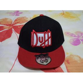 Gorra Cerveza Duff Beer Negra Con Rojo Xl 58 Cm Simpson 7d8693c98c6