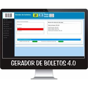 Sistema Gerador E Gerenciador Boletos 4.0 Com Retorn E Remes