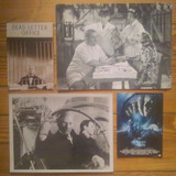 4 Postales Cine - Fantomas, 3 Chiflados, Hitchcock...
