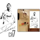 Adesivo Parede Futebol Cr7 Cristiano Ronaldo Cr7 1,10 Metro