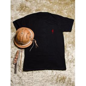 Camiseta Masculina Personalizada Preta - 100% Algodão