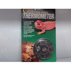 Zoomed Termometro Analógico Th-20 Répteis Terrários