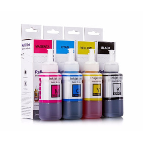 Refil Tinta 664 Epson Yellow L200 L355 L365 L555 L455 L375