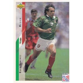 1994 Upper Deck World Cup Hugo Sanchez Mexico a7d6f729b16bc