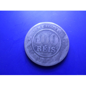 Moeda 100 Réis Ano 1893