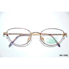 Armação Para Óculos Feminino De Grau - Benetton - Ref  3300 3e0cea4d2b