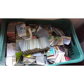 Pacote Com 10000 Cartões Telefônicos Variados