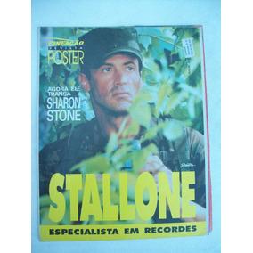 Revista-poster Stallone Nº 3 - O Especialista - O Demolidor