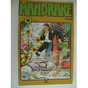 4 Gibis Mandrake Coleção Nº 11 Ao 18 Ed. Globo