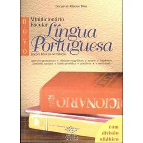 Livro Novo Minidicionário Escolar Da Lingua Portuguesa 2001